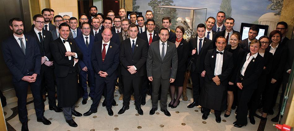 Les candidats ont disputé les premières épreuves de sélection au Cercle national des armées qui accueille habituellement la phase finale du Master of Port.
