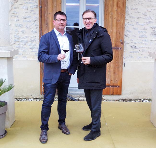 Eddy Larme et Paolo Basso