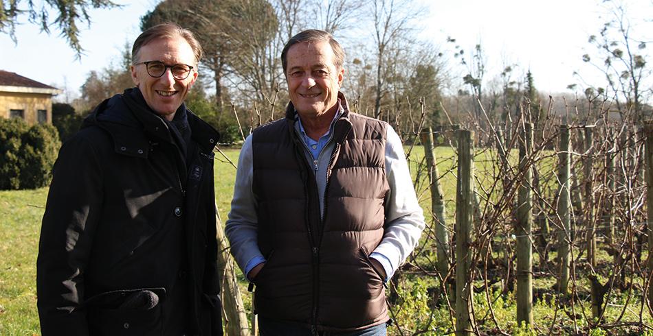 Paolo Basso et Xavier Beaumartin