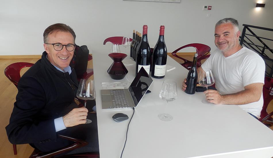 Paolo Basso et Nicolas Rossignol