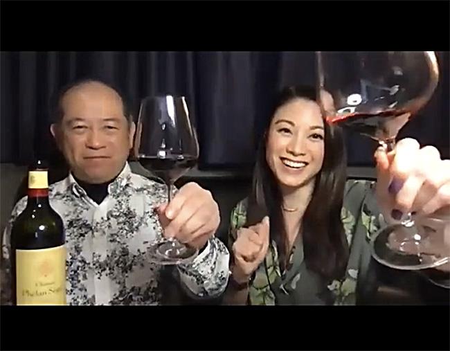 Nelson Chow et Bernice Liu