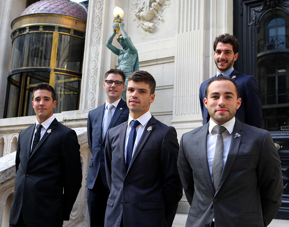 Adrien Cascio, Mikael Grou, Quentin Vauléon, Alexandre Morin et Yohan Nguyen avaient été invités à la première édition de cette sélection française.
