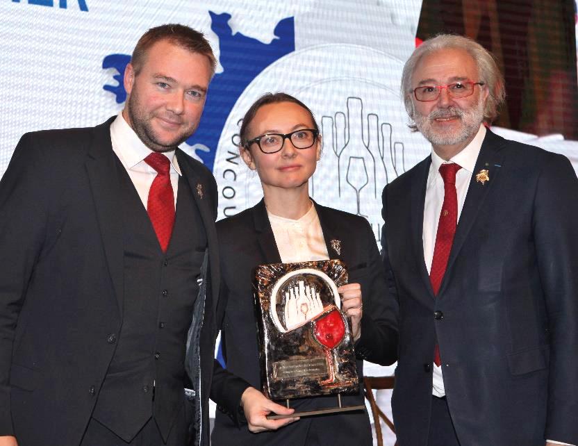 Gaëtan Bouvier, Pascaline Lepeltier et Philippe Faure-Brac.