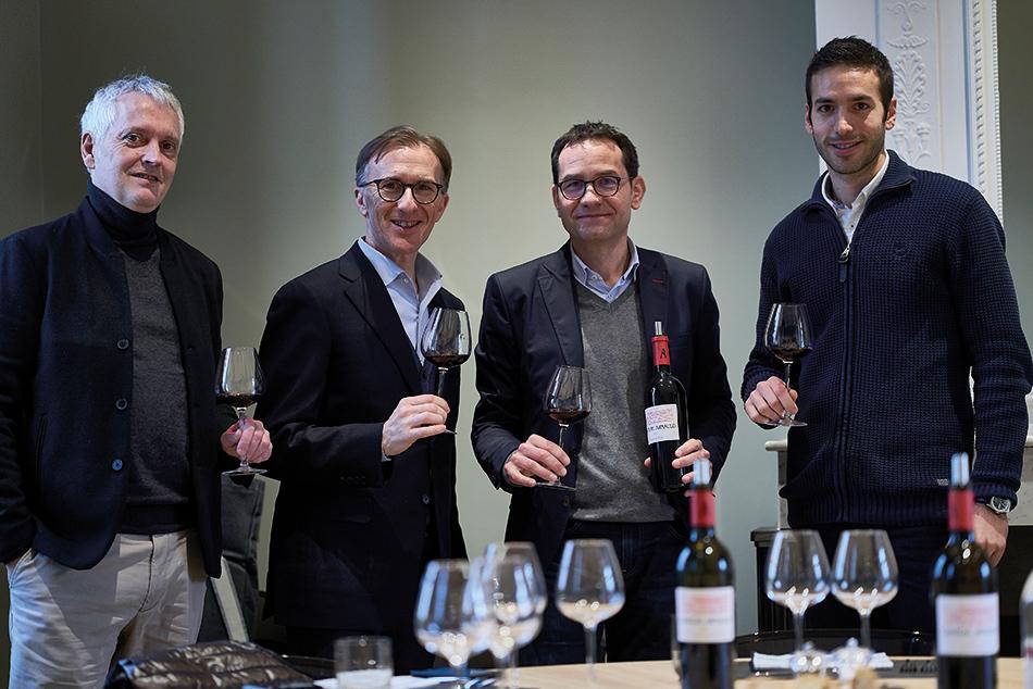 Henry Clemens (S.I), Paolo Basso, Olivier Fargeot et Yann (S.I.)