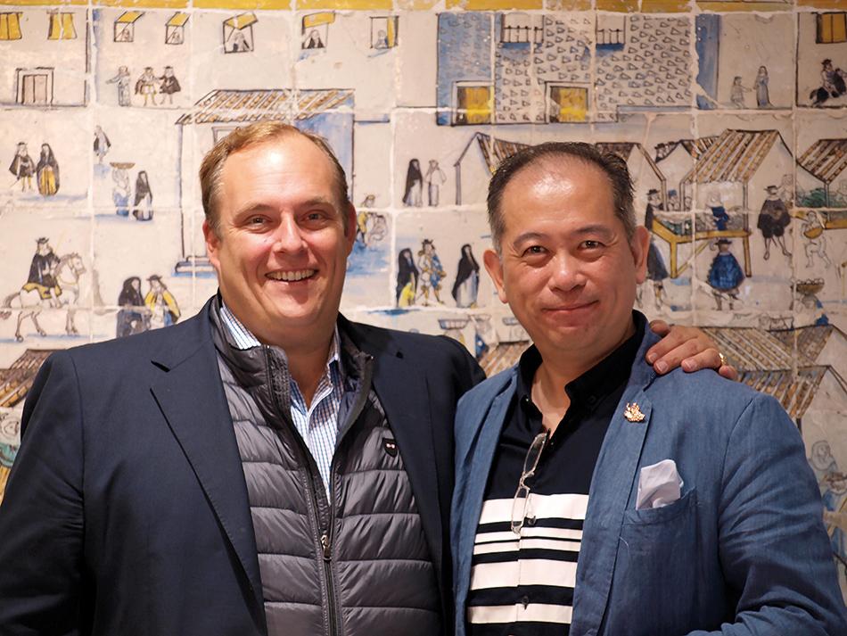 Frédéric Castéja et Nelson Chow