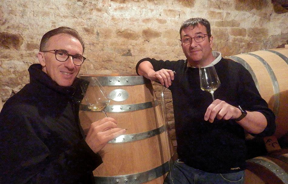 Paolo Basso et François Carillon