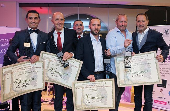 De gauche à droite: Christophe Chiorboli, Freddy Faverot, Christophe Giraud, Franck Houel, Joël Guerini et Hervé Fort, président du jury.